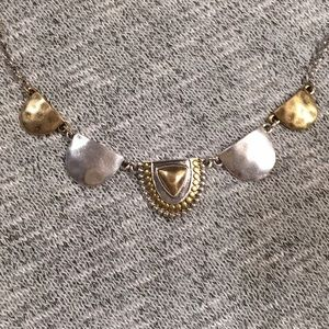 NWT Lucky Brand Two-Toned Necklace